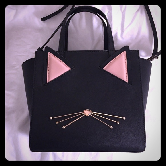 kate spade Handbags - New Kate Spade Hayden cat jazz things up purse